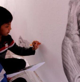 Muraling for Saigas in Uzbekistan