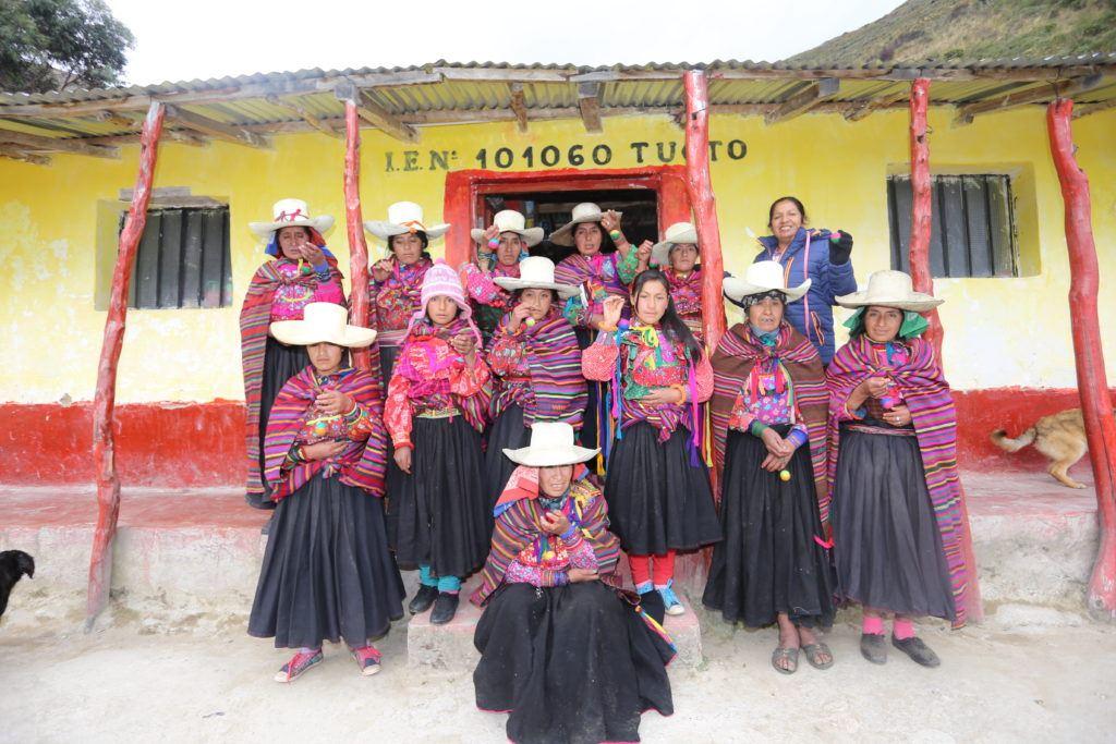Photo credit SBC_Newly trained felti women - Tuctuc community, Peru