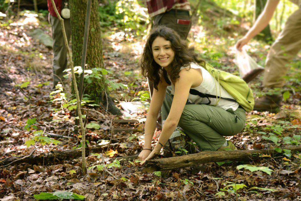 Melissa Arias_en el bosque