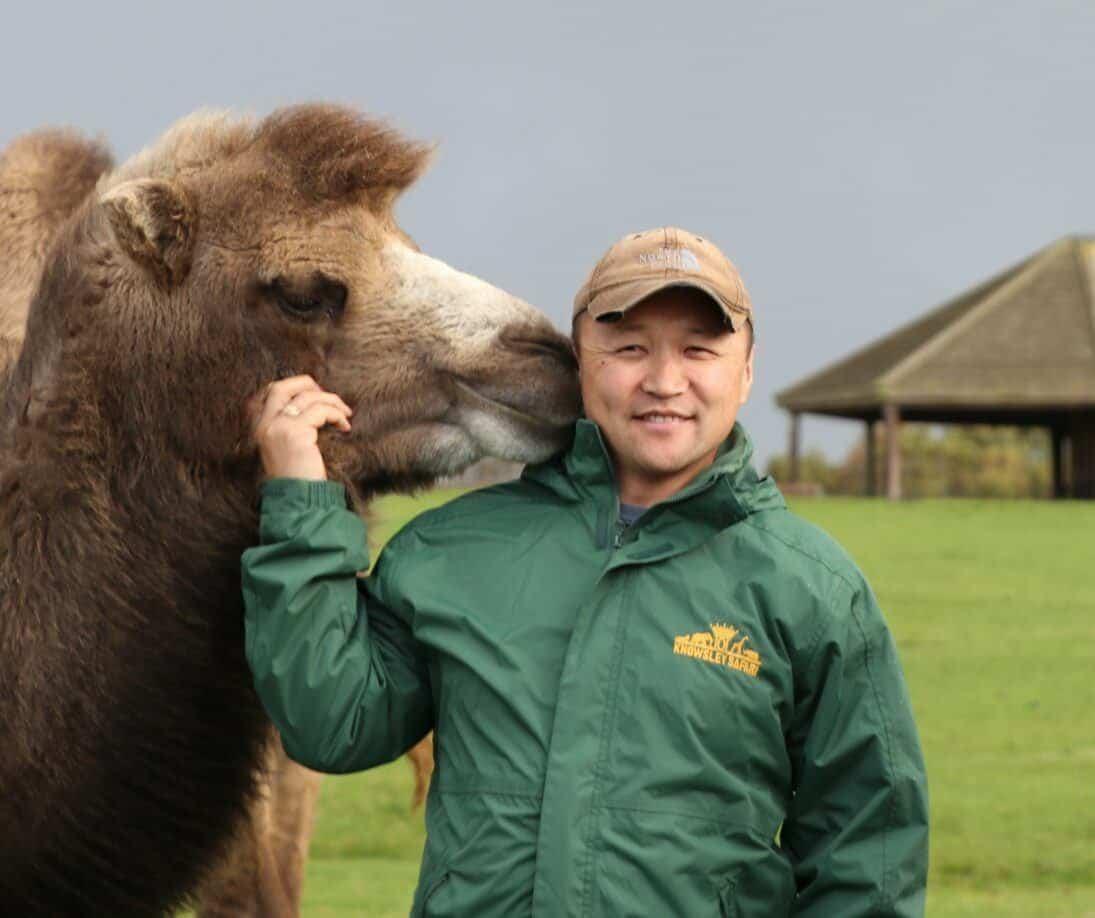adiya with camel